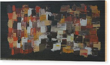 Patchwork  Wood Print by James Johnson