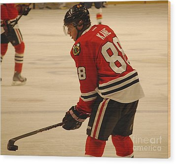 Patrick Kane - Chicago Blackhawks Wood Print