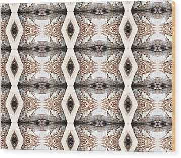 Pattern 1 Wood Print by Tammy Herrin