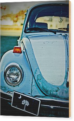Wood Print featuring the photograph Peace Bug by Randall  Cogle