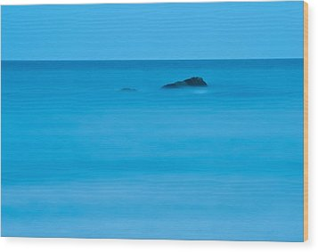 Wood Print featuring the photograph Peaceful Waters by Nancy De Flon
