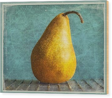 Pear Wood Print by Cathie Tyler
