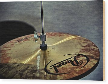 Pearl Hi Hat Wood Print by Odd Jeppesen
