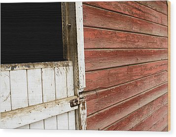 Wood Print featuring the photograph Peeling Paint by Lorraine Devon Wilke
