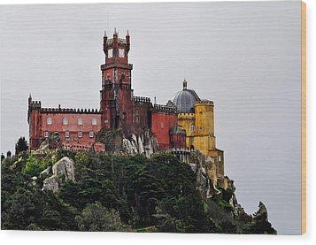 Pena Palace - Sintra Wood Print by Armando Carlos Ferreira Palhau