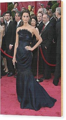 Penelope Cruz Wearing A Chanel Haute Wood Print by Everett