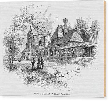 Pennsylvania: House, 1876 Wood Print by Granger
