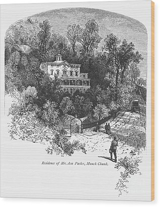 Pennsylvania: House, C1876 Wood Print by Granger