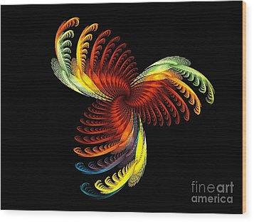 Pens Of Angels Wood Print by Klara Acel
