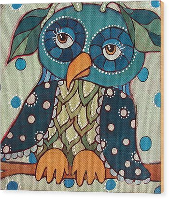 Perched Wood Print by Suzanne Drolet