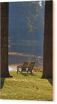 Perfect Morning Place Wood Print by Bill Cannon