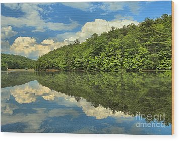 Perfect Reflections Wood Print by Adam Jewell