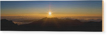 Wood Print featuring the photograph Perfect Sunrise by JM Photography