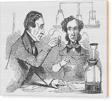 Performing The Marsh Test, 1856 Wood Print by Science Source