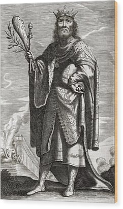 Periander, Greek Tyrant Wood Print by Middle Temple Library