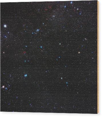 Perseus Constellation Wood Print by Eckhard Slawik
