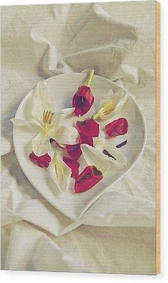 Petals Wood Print by Joana Kruse
