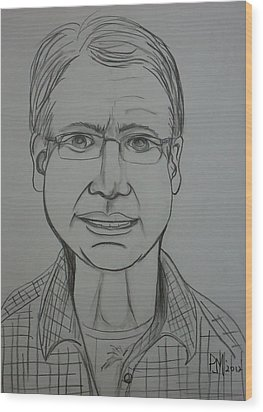Pete Wood Print by Pete Maier