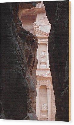 Petra 2 Wood Print by David George