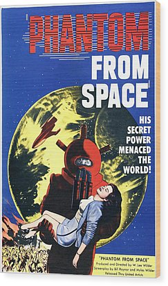 Phantom From Space, Noreen Nash, 1953 Wood Print by Everett