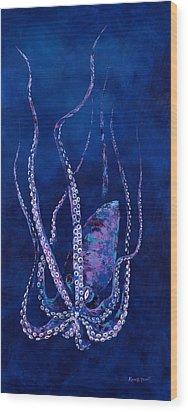 Phantom Of The Deep Wood Print by Kevin Brant