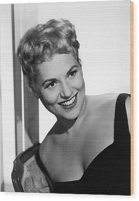 Phffft, Judy Holliday, 1954 Wood Print by Everett