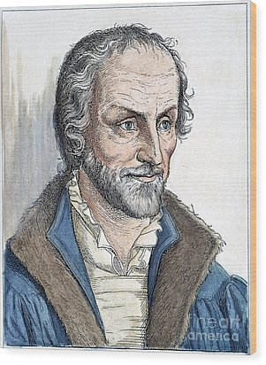 Philipp Melanchthon (1497-1560). German Scholar And Religious Reformer: Line Engraving, German, 19th Century Wood Print by Granger