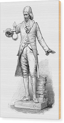Philippe Lebon, French Engineer Wood Print by