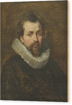 Philippe Rubens - The Artist's Brother Wood Print by Peter Paul Rubens