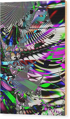 Phoenix Rising . S3.s9 Wood Print by Wingsdomain Art and Photography