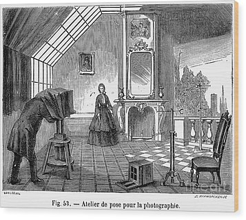 Photography, 1876 Wood Print by Granger