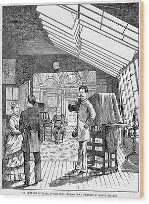 Photography Studio, 1876 Wood Print by Granger