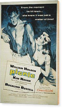 Picnic, William Holden, Kim Novak Wood Print by Everett
