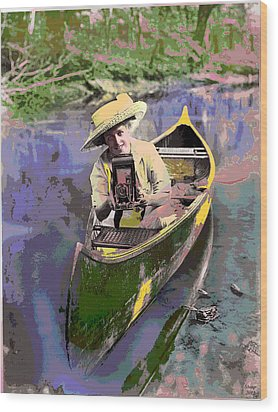 Picture Perfect Wood Print by Charles Shoup