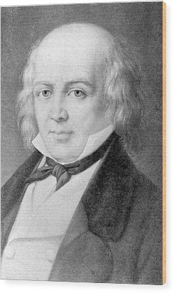 Pierre Jean De B�ranger 1780-1857 Wood Print by Everett
