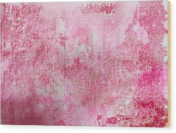 Pink Lady Wood Print by Christopher Gaston