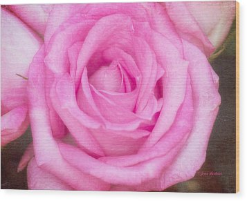 Wood Print featuring the photograph Pink Surprise by Joan Bertucci