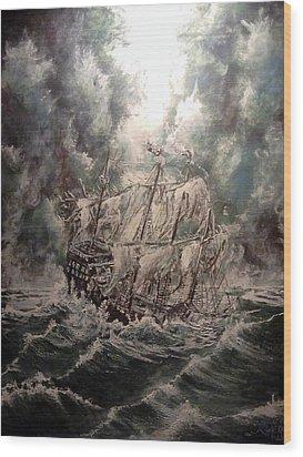 Pirate Islands 2 Wood Print by Robert Tarrant