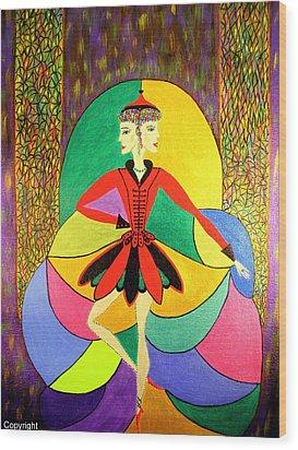 Pirouette Wood Print