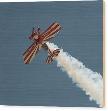 Wood Print featuring the photograph Pitts Special by Gary Rose