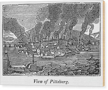 Pittsburgh, 1836 Wood Print by Granger