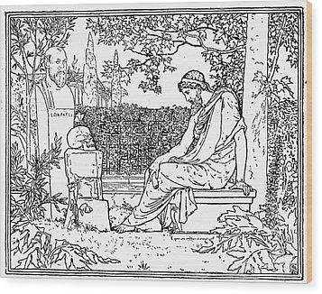Plato (c427-c347 B.c.) Wood Print by Granger