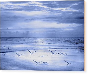 Wood Print featuring the photograph Playa De Traba by Alfonso Garcia