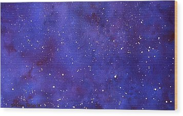 Pleiades Wood Print by Sharon Farber