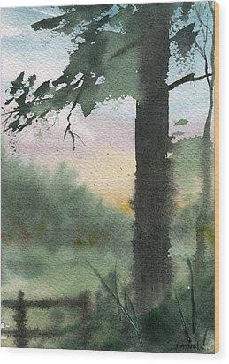 Plein Air 10 Wood Print by Sean Seal