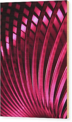 Wood Print featuring the photograph Poetry Of Light by Lauren Radke