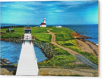 Point Cape One Wood Print by Rick Bragan