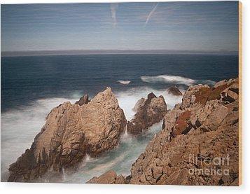 Point Lobos Number One Wood Print by Catherine Lau