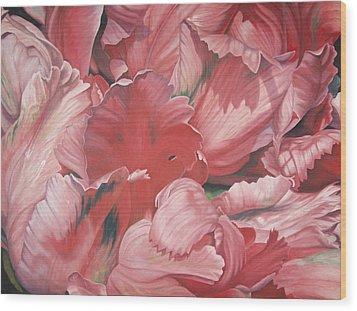 Pollyflower Wood Print by - Harlan
