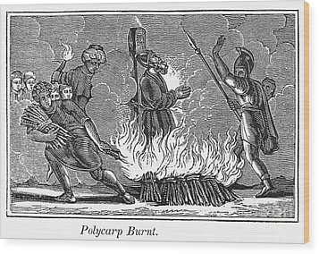 Polycarp Of Smyrna Wood Print by Granger